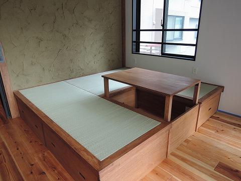 琉球畳の小上りスペース