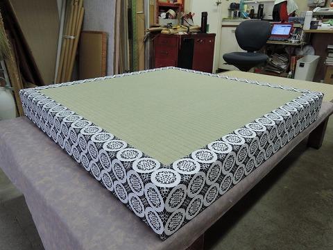 お寺で使う畳「二畳台(にじょうだい)」