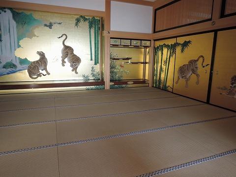 畳の研修会・名古屋城本丸御殿