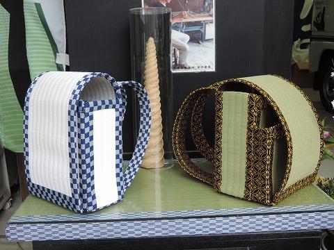 今年も畳のランドセルを展示中です