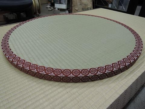 円形畳のご注文をいただきました。