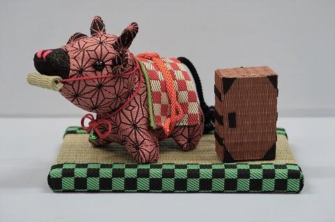 畳縁で作った「干支飾り(スピンオフ・バージョン)」