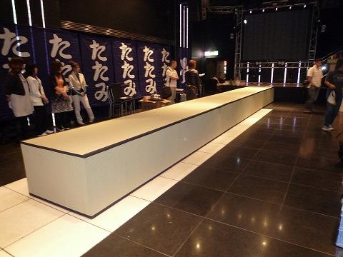 畳のステージ