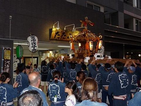 渋谷氷川神社・例大祭
