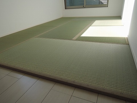 縁付き畳(30ミリ厚)・ほぼ敷き詰め