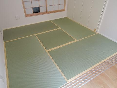 縁付き畳(30ミリ厚)・敷き詰め