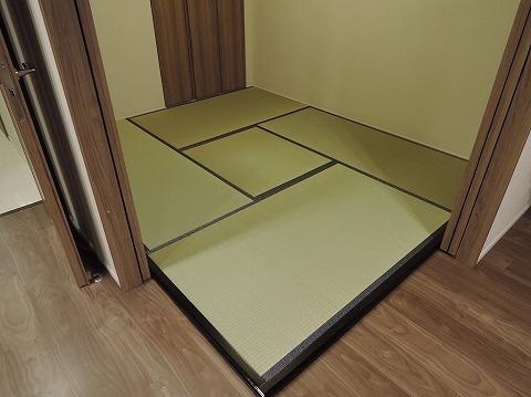 フローリング畳(一部木枠使用)
