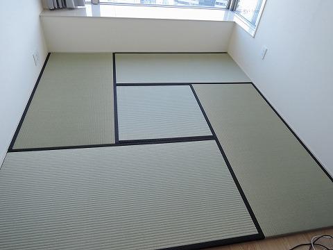 フローリング畳(一部敷き詰め)