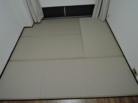 フローリング畳・灰桜色