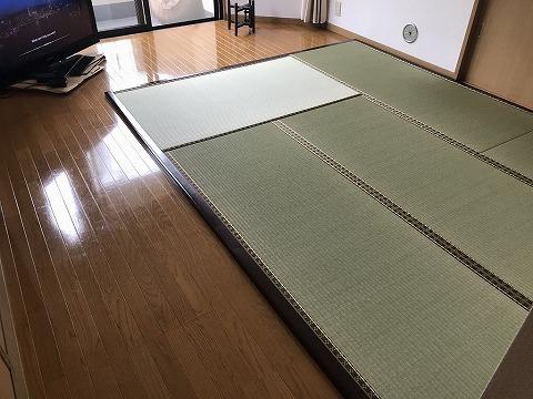 フローリング畳(木枠使用)