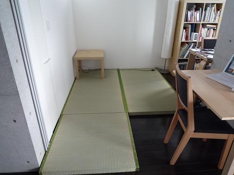 渋谷区 P 様宅 置き畳風