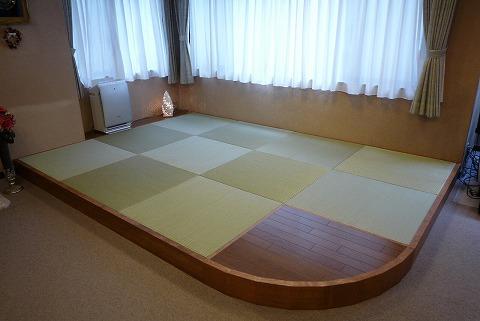 港区 K様宅 畳スペース(琉球畳)
