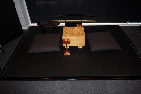 将棋スペース(黒畳+木枠)