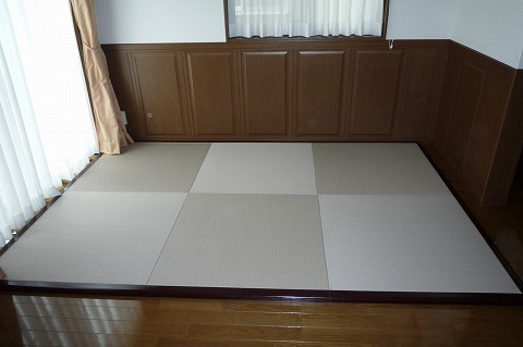 川崎市 N様宅 カラー畳・木枠付き